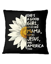 She Is A Good Girl Square Pillowcase thumbnail