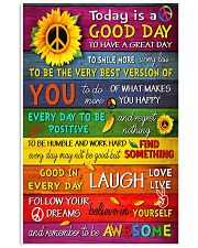 Today Is Good Day 11x17 Poster front