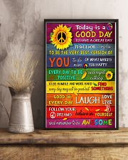 Today Is Good Day 11x17 Poster lifestyle-poster-3