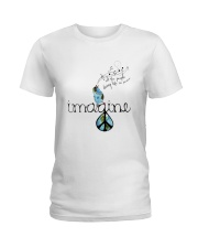 People Living Life In Peace 4 Ladies T-Shirt thumbnail