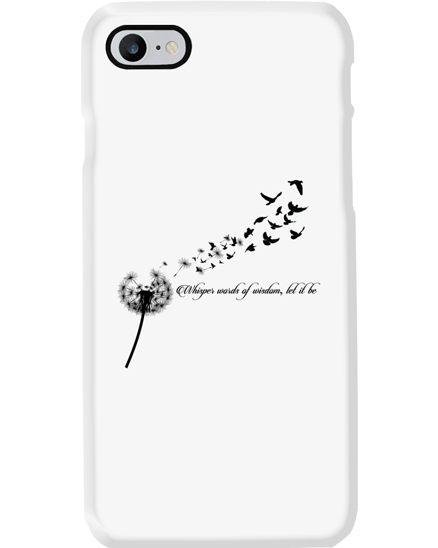 Whisper Words Of Wisdom Let It Be Hippie  Phone Case