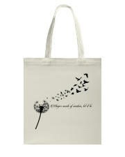 Whisper Words Of Wisdom Let It Be Hippie  Tote Bag thumbnail
