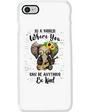 Be Kind In A World Phone Case thumbnail