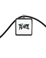 I See Trees Of Green Cord Rectangle Necklace thumbnail