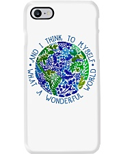 Myself What A Wonderful World Phone Case tile