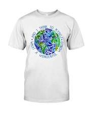 Myself What A Wonderful World Classic T-Shirt tile