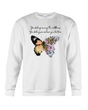 You Belong Among The Wildflowers Crewneck Sweatshirt thumbnail