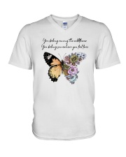 You Belong Among The Wildflowers V-Neck T-Shirt thumbnail