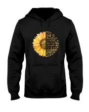 She Is Delightfully Chaotic Hooded Sweatshirt front