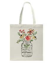 She Is A Little Wildflowers Tote Bag thumbnail