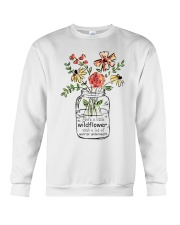 She Is A Little Wildflowers Crewneck Sweatshirt thumbnail