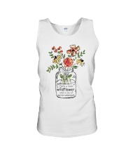 She Is A Little Wildflowers Unisex Tank thumbnail