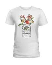 She Is A Little Wildflowers Ladies T-Shirt thumbnail