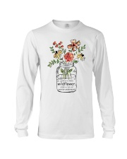 She Is A Little Wildflowers Long Sleeve Tee thumbnail