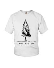 I Must Go Youth T-Shirt thumbnail