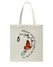 Whisper Words Of Wisdom Tote Bag tile