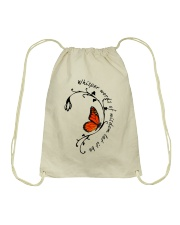 Whisper Words Of Wisdom Drawstring Bag tile