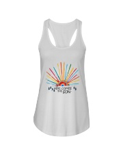 Here Come The Sun Ladies Flowy Tank thumbnail