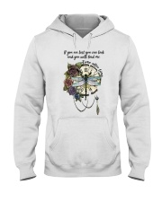 Time After Time Hooded Sweatshirt front
