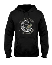 Oh Baby Baby Its A Wild World Hooded Sweatshirt front