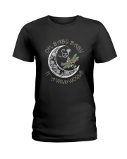 Oh Baby Baby Its A Wild World Ladies T-Shirt thumbnail