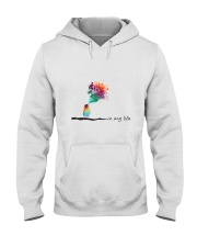 In My Life Hooded Sweatshirt front
