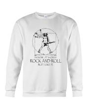 Only Rock And Roll Crewneck Sweatshirt thumbnail