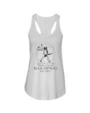 Only Rock And Roll Ladies Flowy Tank thumbnail