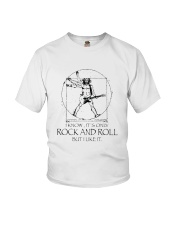 Only Rock And Roll Youth T-Shirt thumbnail