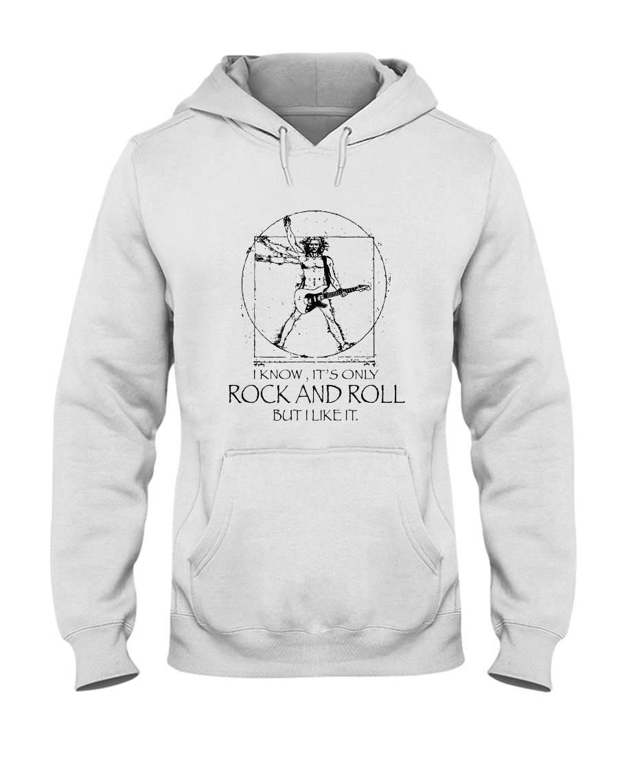 Only Rock And Roll Hooded Sweatshirt