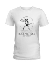 Only Rock And Roll Ladies T-Shirt thumbnail