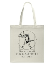 Only Rock And Roll Tote Bag thumbnail