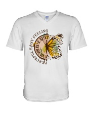 Peaceful Easy Feeling V-Neck T-Shirt thumbnail