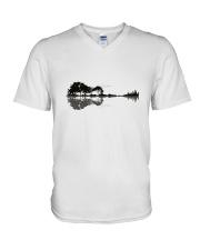 Blackbird Singing V-Neck T-Shirt thumbnail