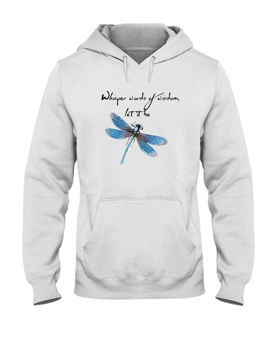 Whisper Words Of Wisdom 1 Hooded Sweatshirt showcase