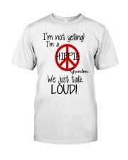Hippie Grandma Classic T-Shirt front