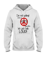 Hippie Grandma Hooded Sweatshirt thumbnail