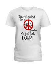 Hippie Grandma Ladies T-Shirt thumbnail
