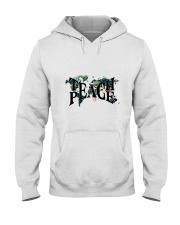 Teach Peace Hooded Sweatshirt front