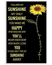 You Are My Sunshine 11x17 Poster front