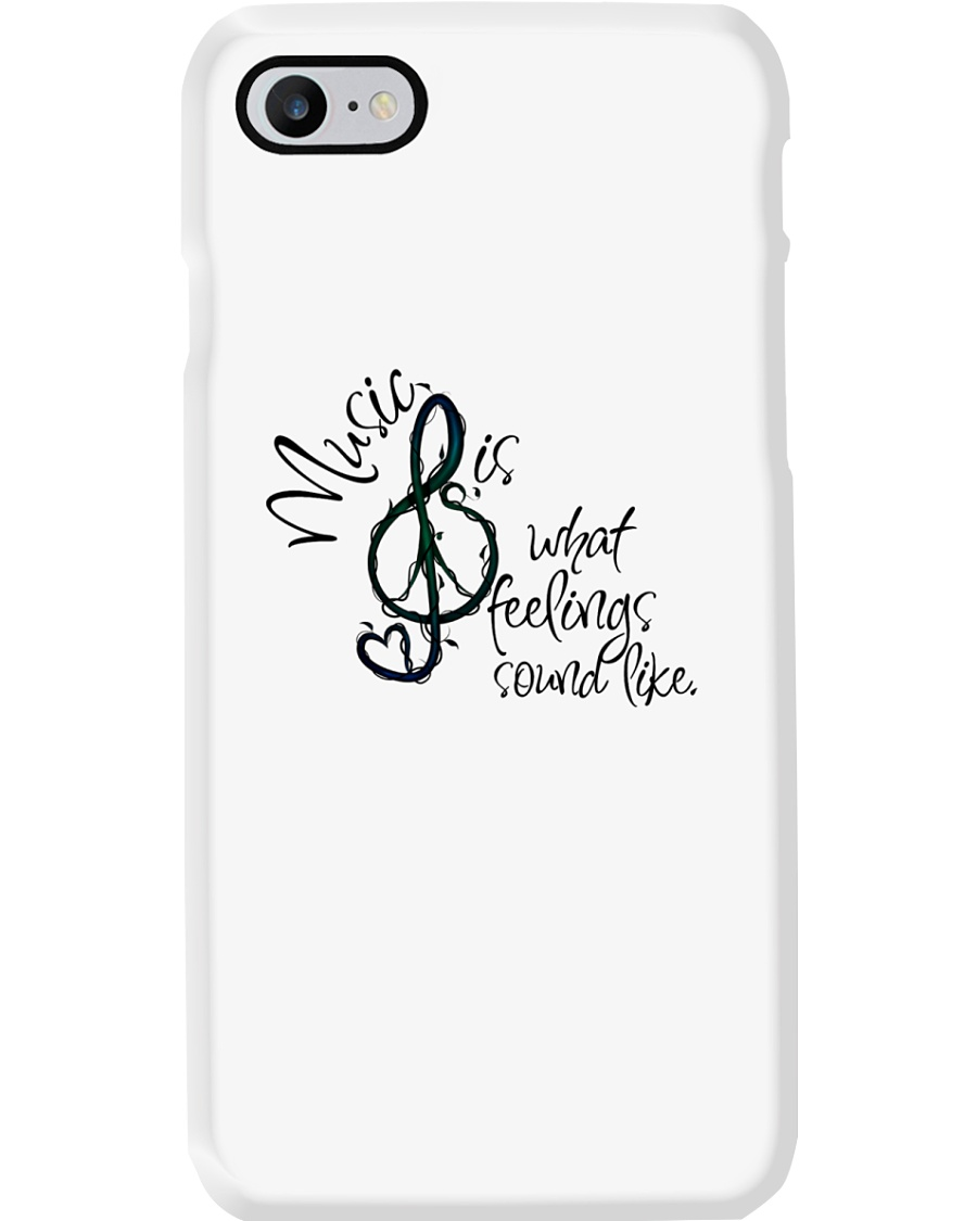 Music Is What Feelings Sound Like Hippie  Phone Case