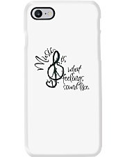 Music Is What Feelings Sound Like Hippie  Phone Case thumbnail