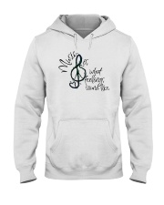 Music Is What Feelings Sound Like Hippie  Hooded Sweatshirt thumbnail