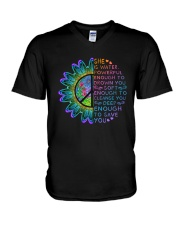 She Is Water Powerful V-Neck T-Shirt thumbnail