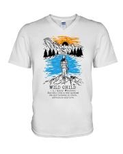 Wild Child V-Neck T-Shirt thumbnail