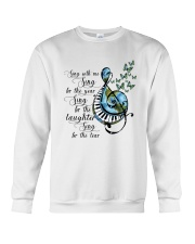Sing With Me Sing For The Year Crewneck Sweatshirt thumbnail