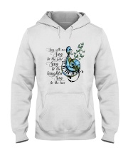 Sing With Me Sing For The Year Hooded Sweatshirt front