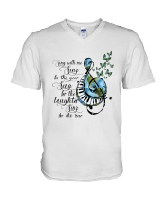 Sing With Me Sing For The Year V-Neck T-Shirt thumbnail