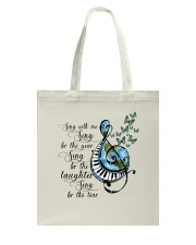 Sing With Me Sing For The Year Tote Bag thumbnail