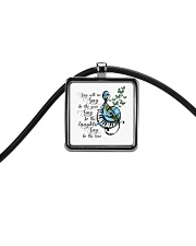 Sing With Me Sing For The Year Cord Rectangle Necklace thumbnail
